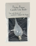 Flicker-Flame Candle-Lite Light Bulb